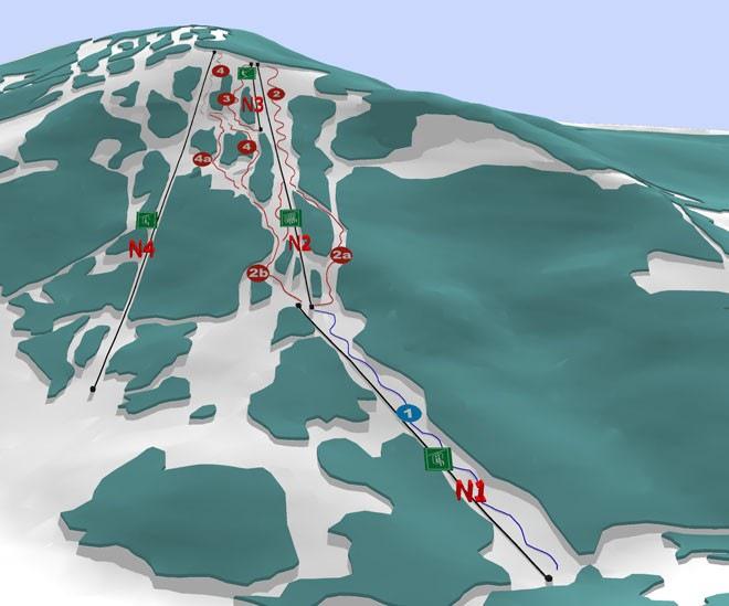 Красия карта трасс