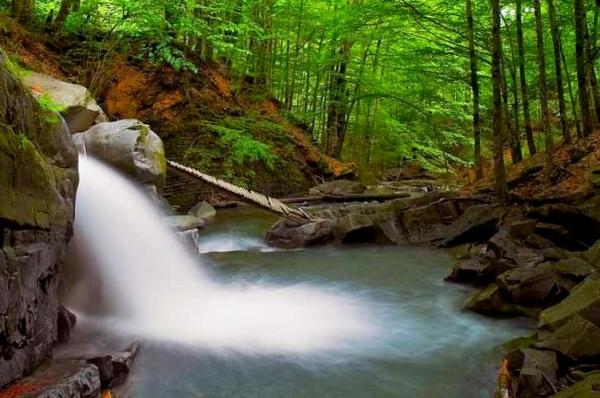 Водопад Закарпатье